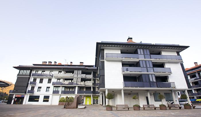 Imagen de las viviendas construidas en Orio